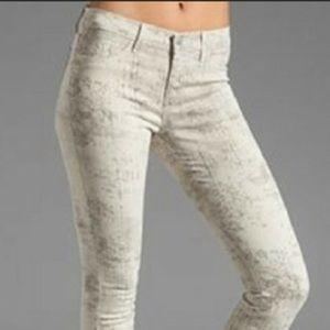 J Brand Super Skinny Beige Gray Jeans